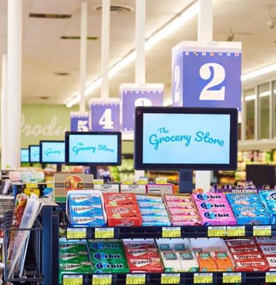 Grocery Store Screen DOOH