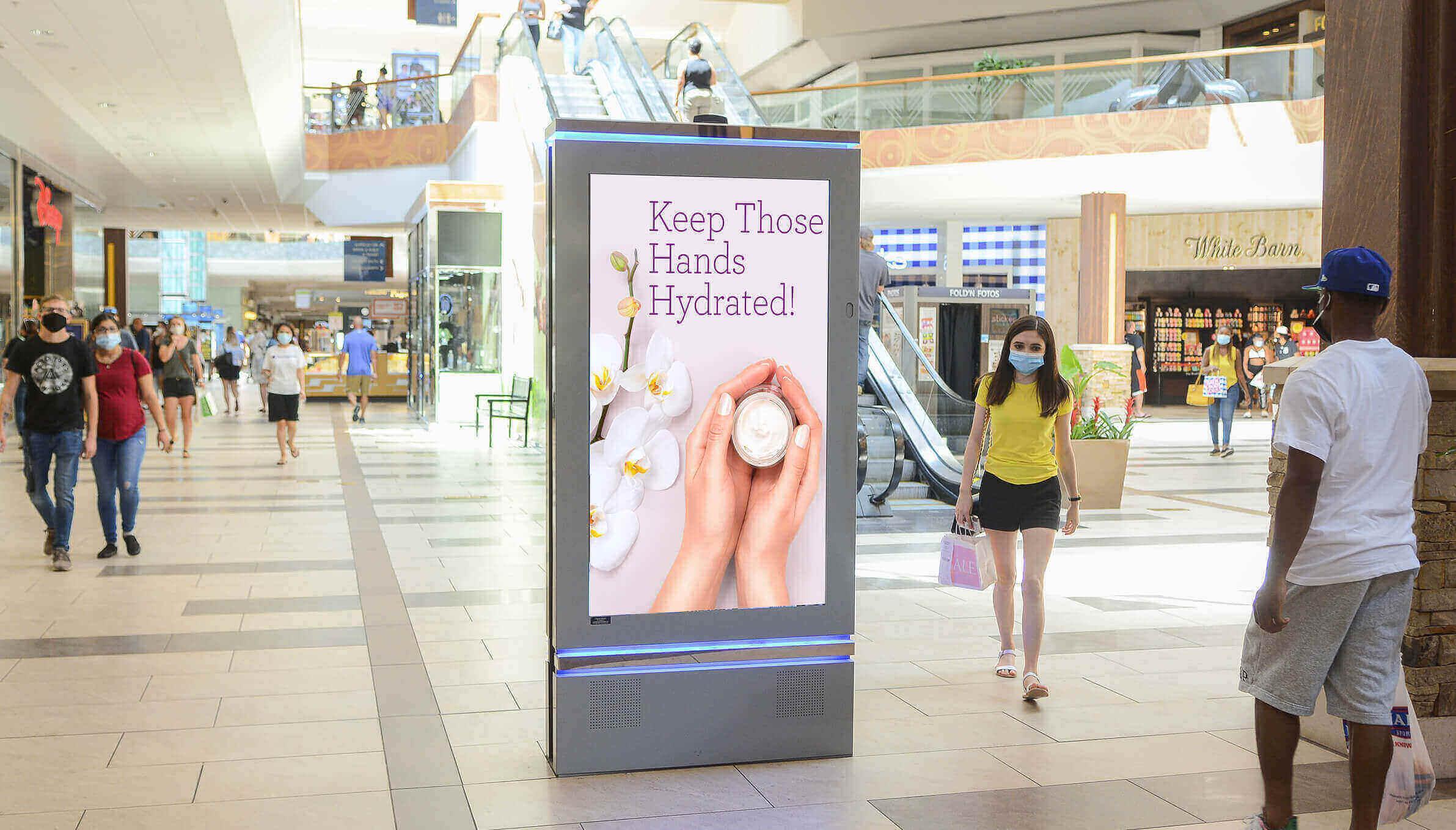 Lightbox Mall DOOH Screen