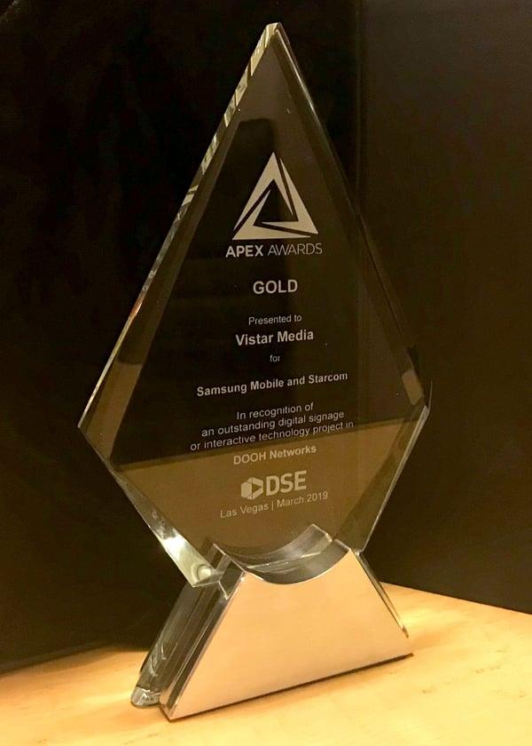 Vistar_Media_DSE_APEX_award