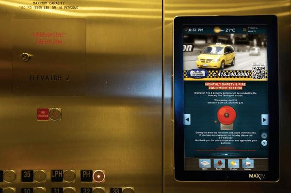 MaxTV - Elevator