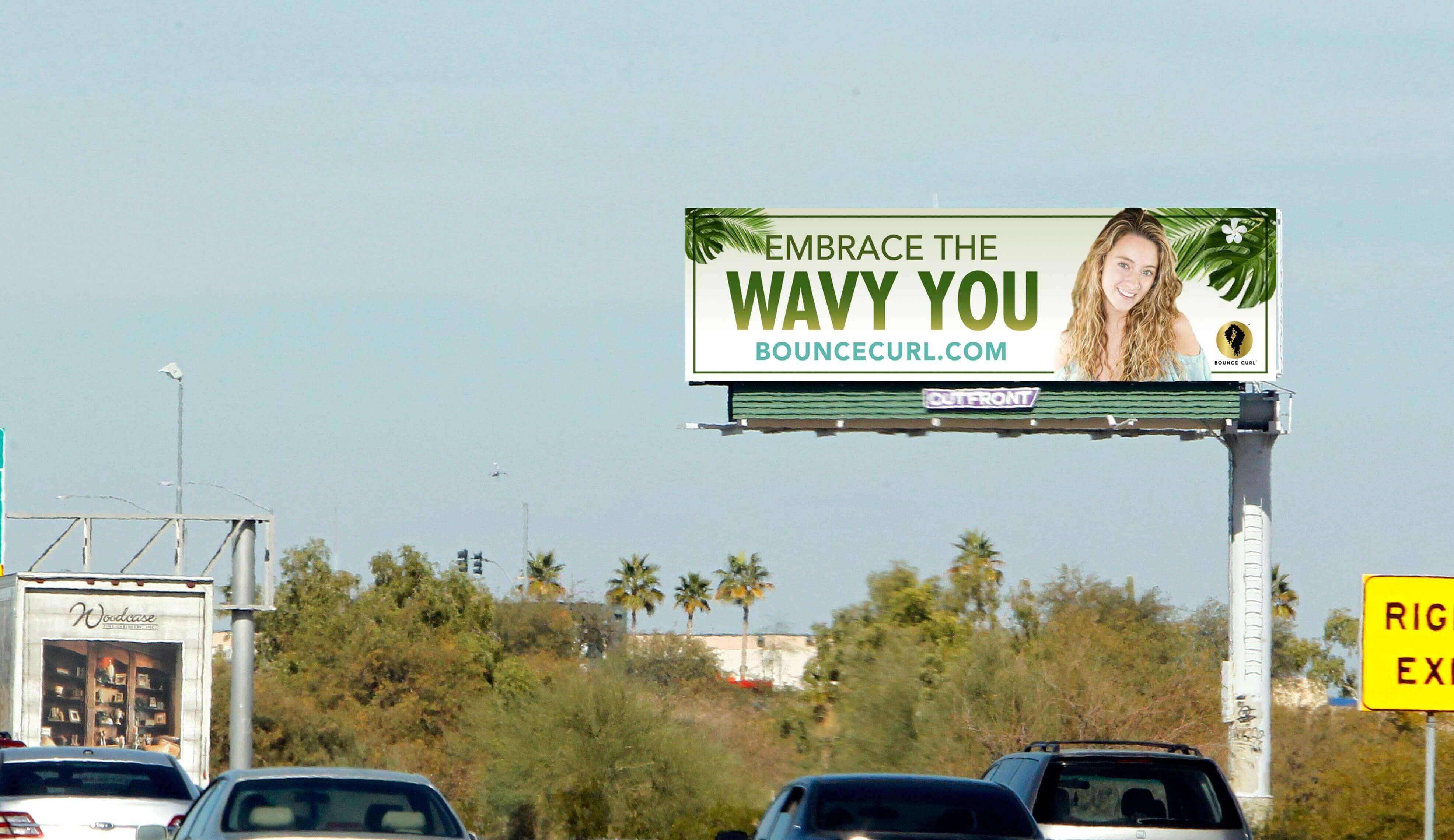 Phoenix Bounce Curl 2-8582 appBounce Curl Billboard creative for wavy hair