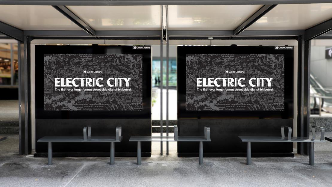Electric City Billboard in Singapore