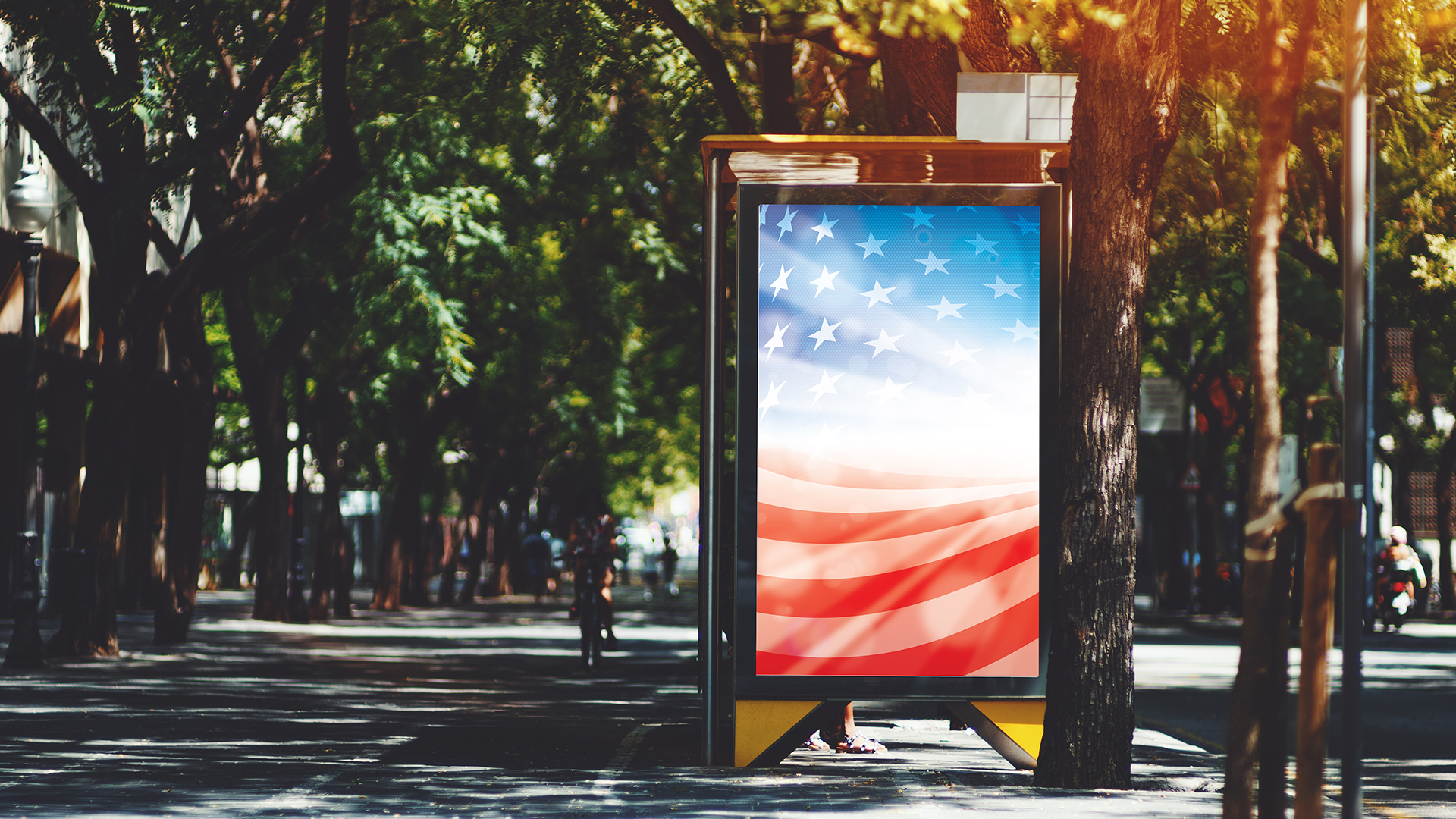 Politics DOOH Programmatic Advertising
