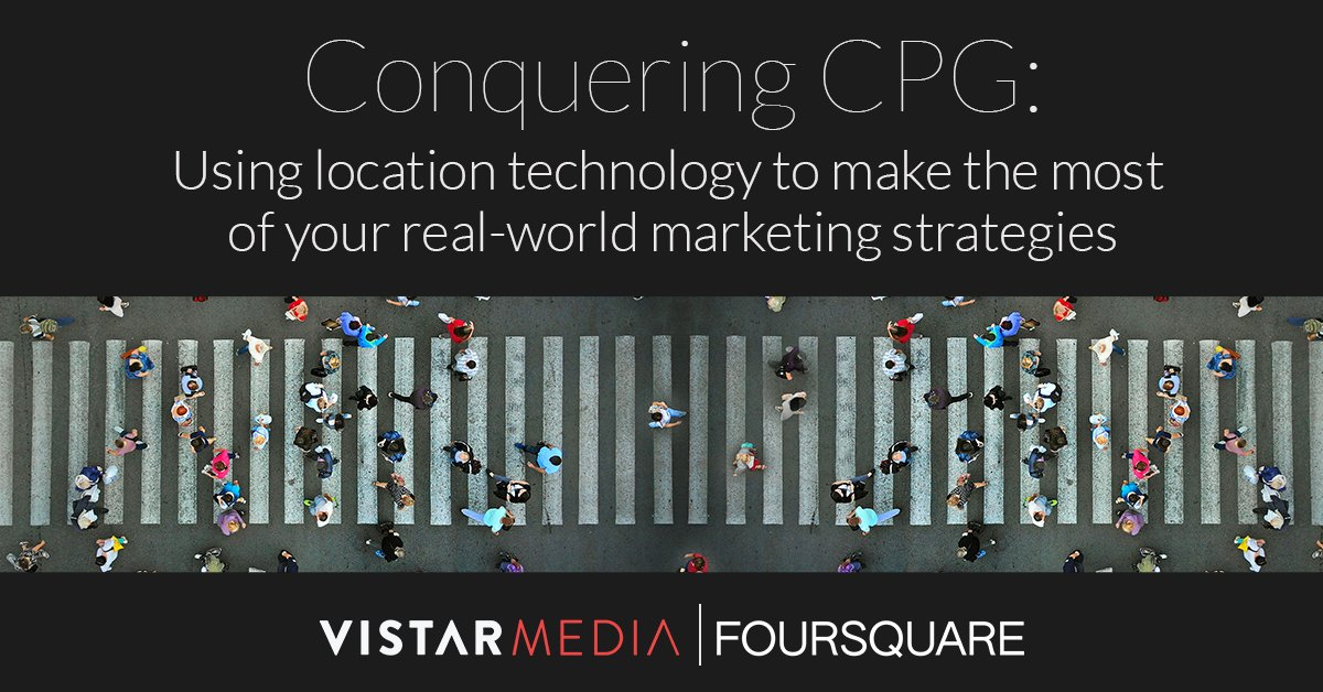 Conquering CPG: using location technology to make the most of DOOH marketing