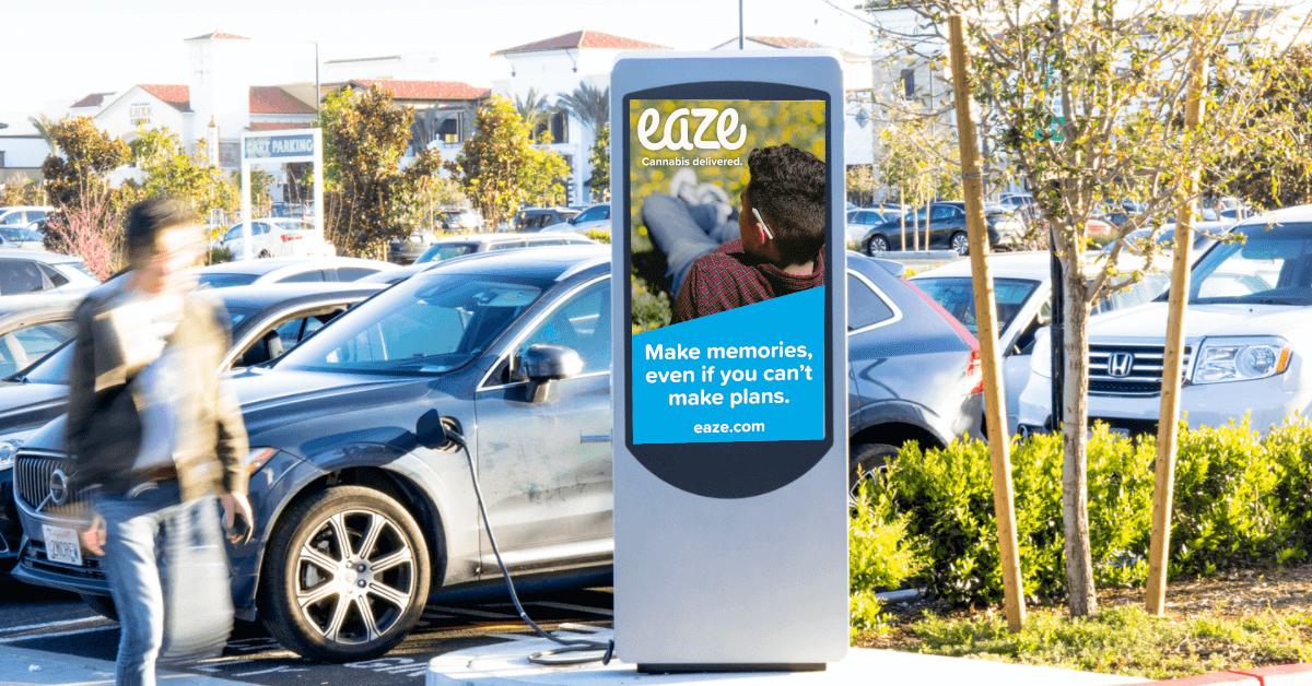 eaze case study compliant DOOH campaign