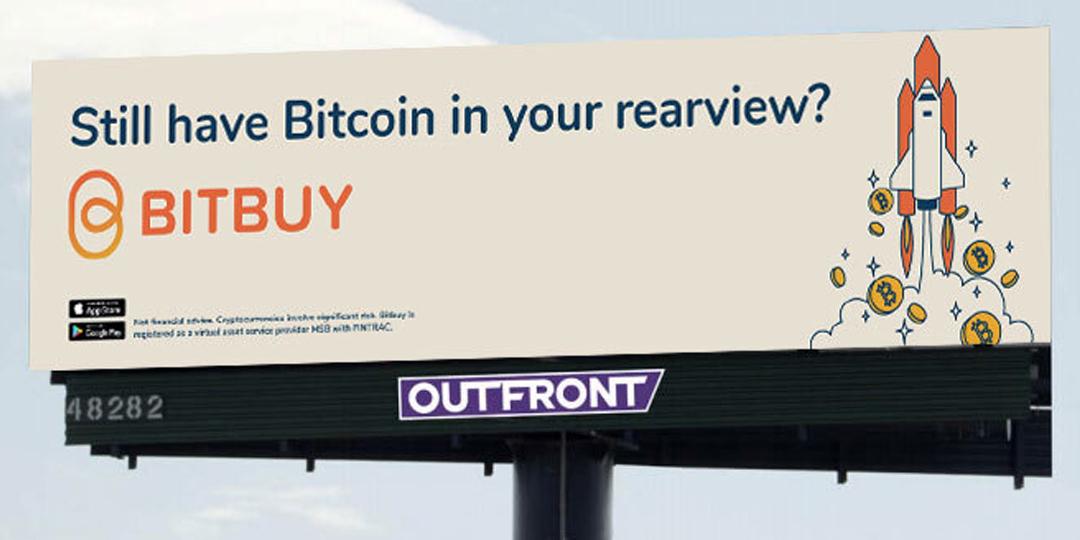 Bitbuy Cryptocurrency DOOH Programmatic Vistar Media Canada